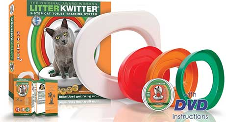 kit apprentissage toilette chat
